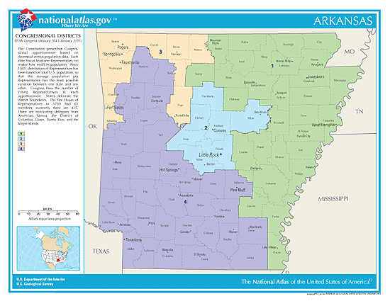 arkansas election congressional districts