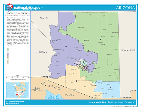 arizona election congressional districts