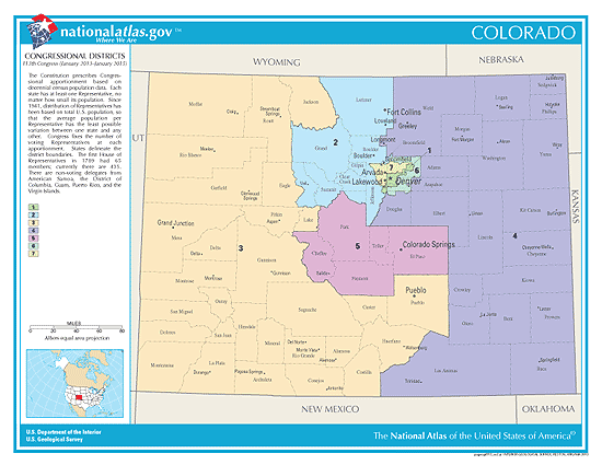 colorado election congressional districts
