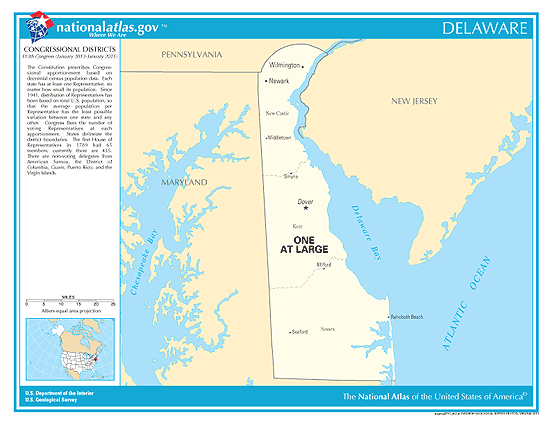 delaware election congressional districts