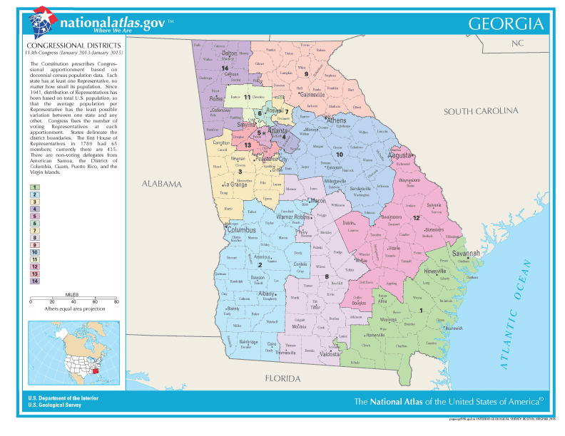 Amazing Georgia Voting Map Swimnovacom - Georgia voting map