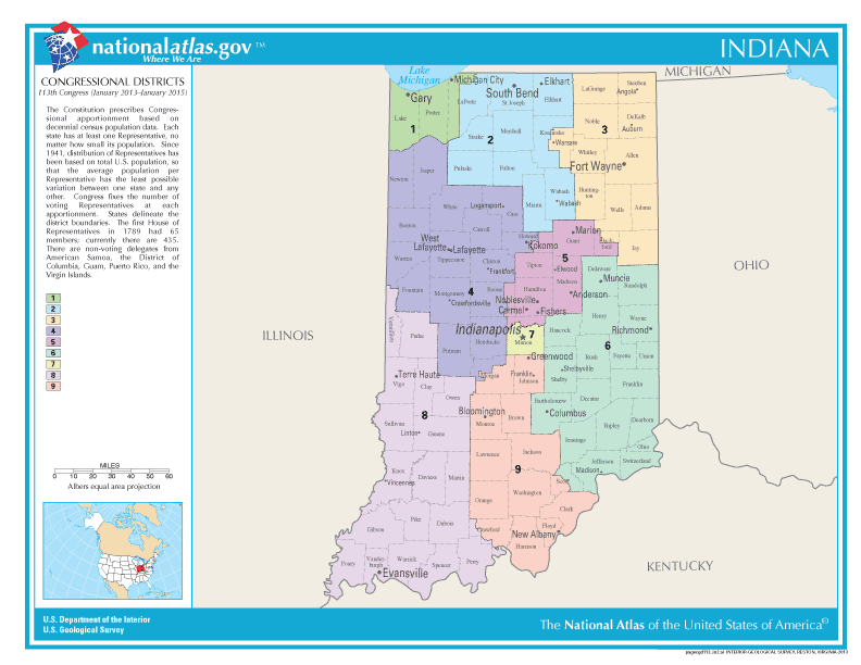 2016 Indiana Elections Candidates Races And Voting