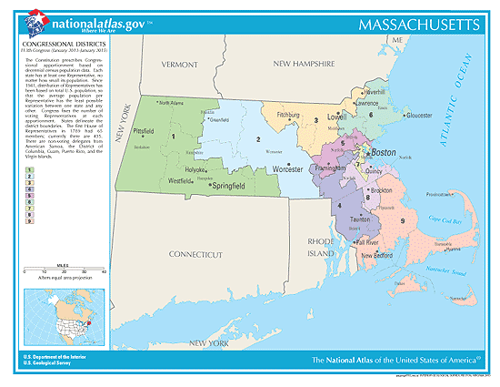massachusetts election congressional districts