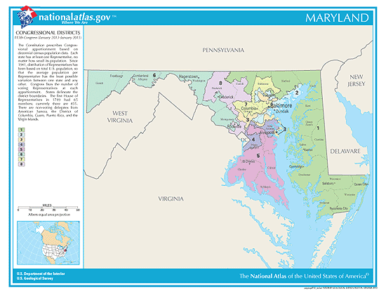maryland election congressional districts