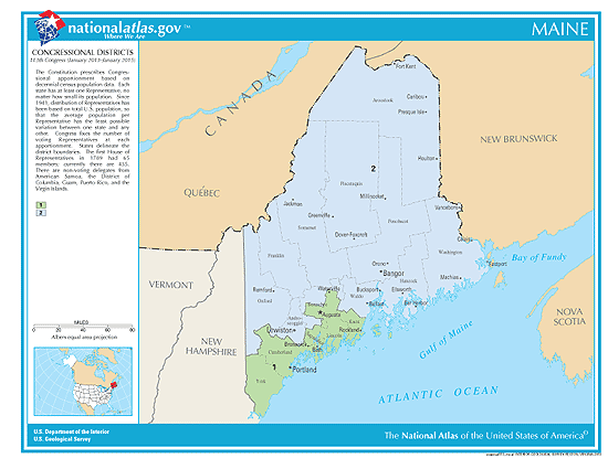 maine election congressional districts
