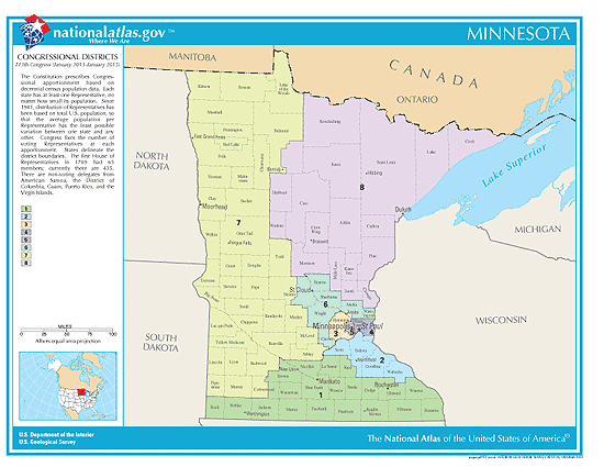 minnesota congressional districts