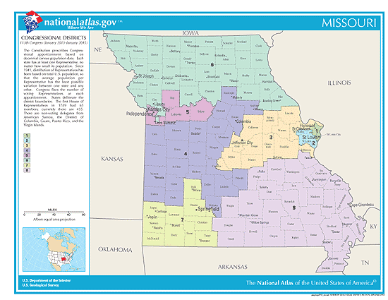 missouri election congressional districts