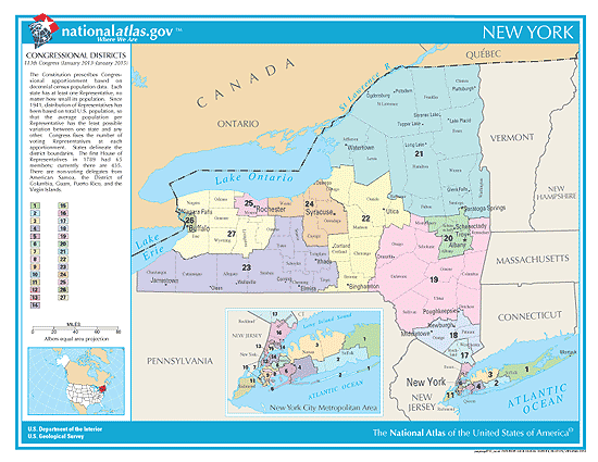 new york election congressional districts